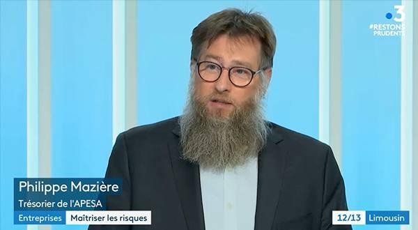 Maitriser les risques : interview de Philippe Mazière, trésorier de l'Apesa