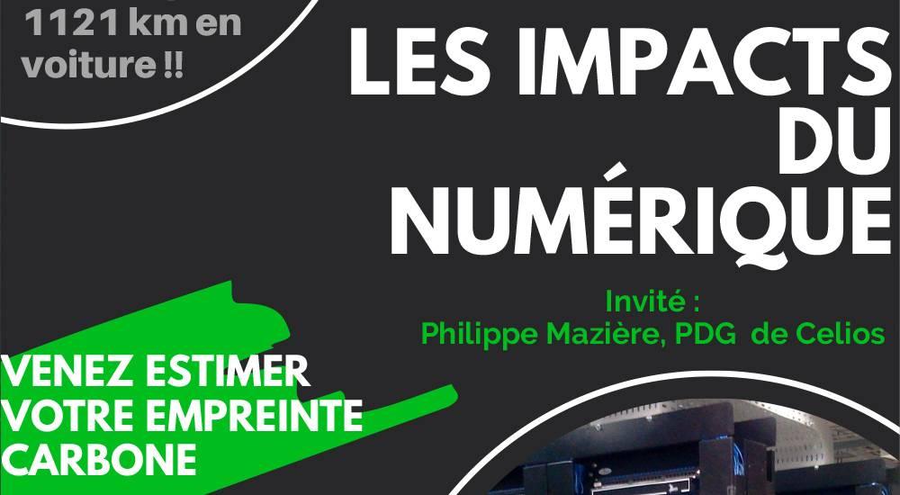 Conférence : Les impacts du Numérique le 18 mars 2021